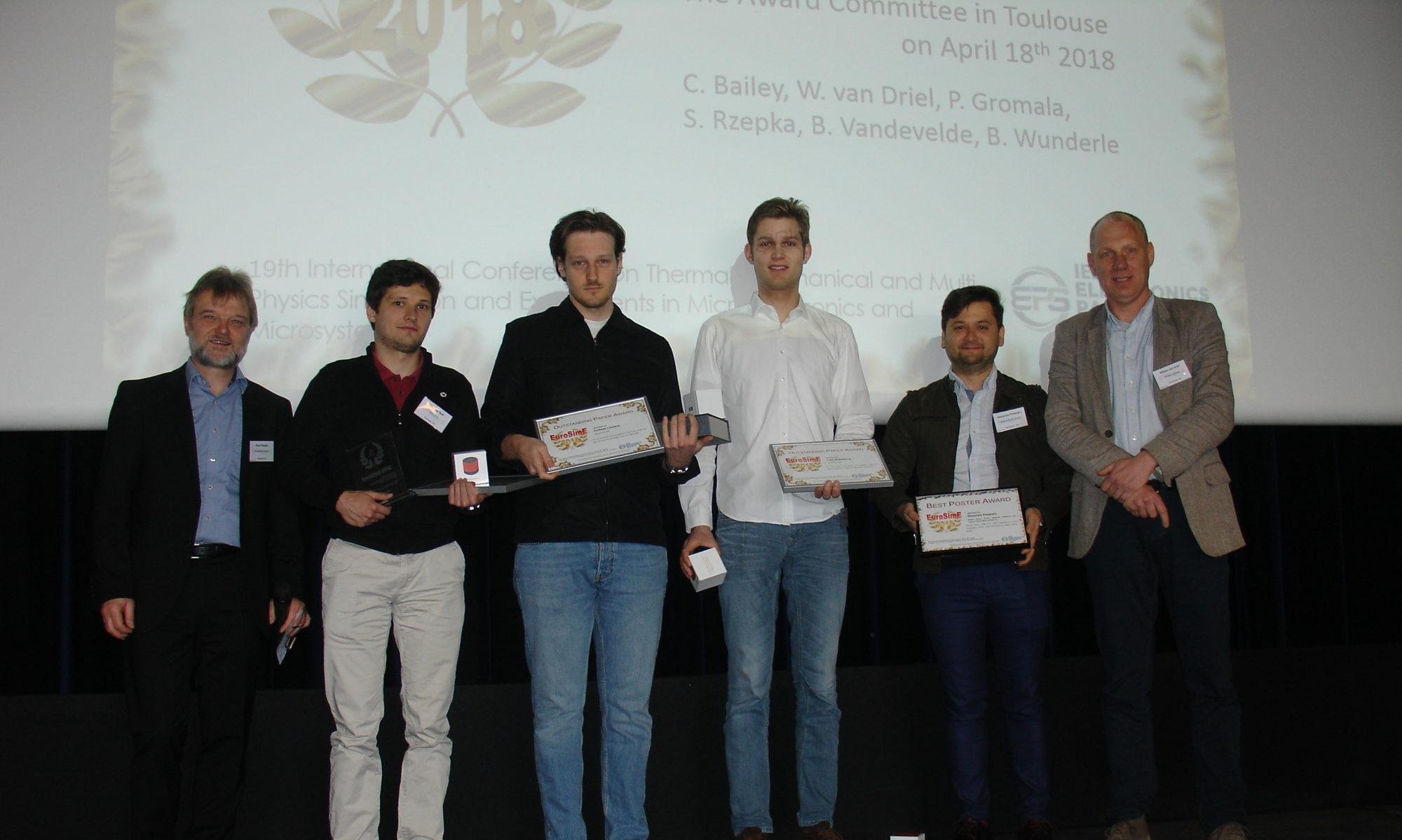 2019: 20th EuroSimE in Hannover, Germany
